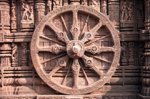Konark-sun-temple-wheel